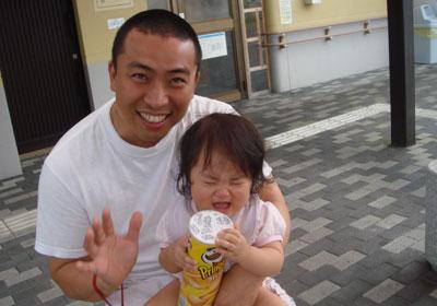 パパ抱っこは大なき