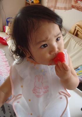 トマトの大食い