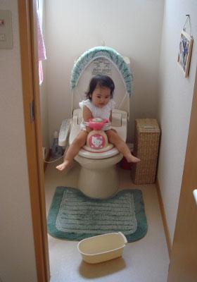 トイレにオマル