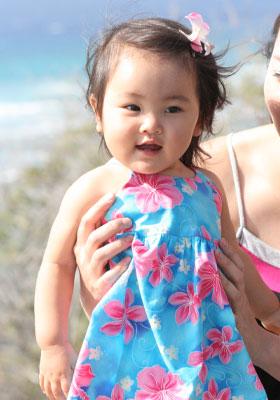 洋服もハワイアン