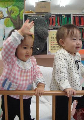 リンちゃんとナユちゃん
