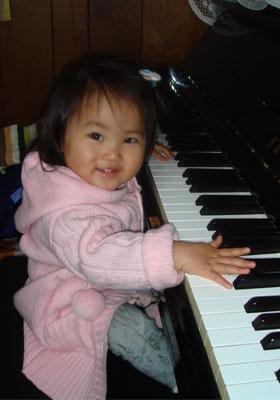 ピアノの練習!?