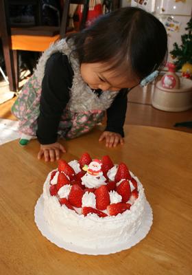 ママの手作りケーキ